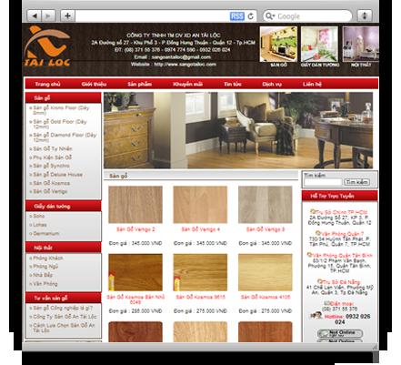 Sàn gỗ An Tài Lộc